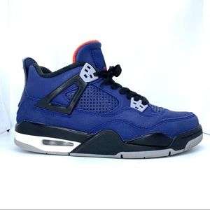 Nike Air Jordan 4 Retro Winterized Loyal Blue GS